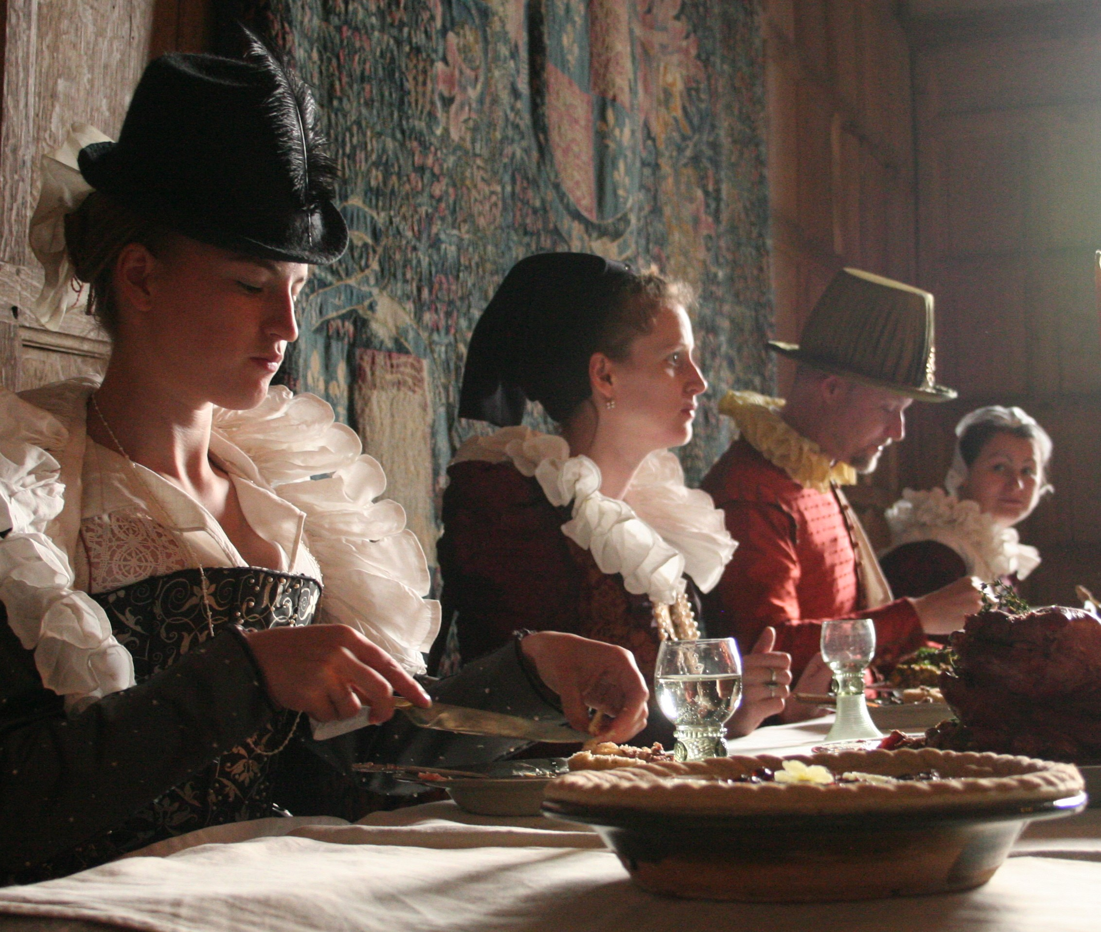 A brush up on Elizabethan etiquette
